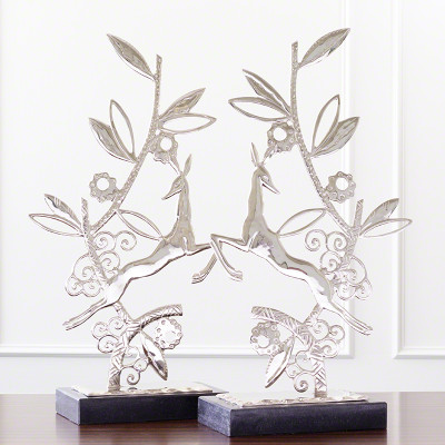 Enchanted Forest Sculpture - Nickel - Each