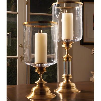 Estate Hurricane - Antique Brass