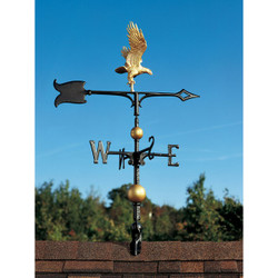 "30"" Full-Bodied Eagle Weathervane main image"