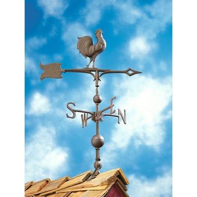 """30"""" Full-Bodied Rooster Weathervane image 2"""