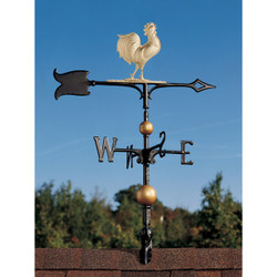 "30"" Full-Bodied Rooster Weathervane main image"