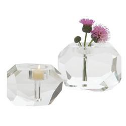 Gemstone T - Lite/Bud Vase - Sm