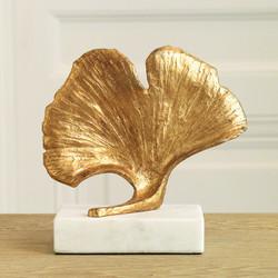 Ginkgo Leaf Objet - Gold