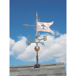 Copper Banner Weathervane main image