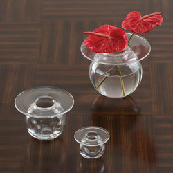 H2O Vase - Clear - Lg