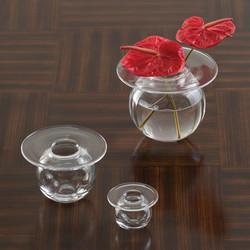 H2O Vase - Clear - Med