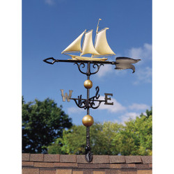 "46"" Yacht Weathervane main image"