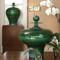 Happy Temple Jar - Emerald - Tall