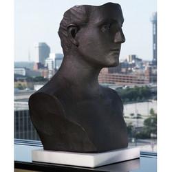 Global Views Head Sculpture - Cast Iron