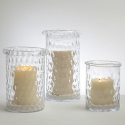 Honeycomb Hurricane Vase - Sm