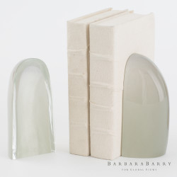 Iceberg Bookends - Smoke - Pair