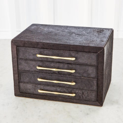 Jacqueline Jewelry Box - Black Hair - on - Hide