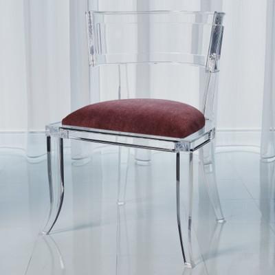 Klismos Acrylic Chair - Sultana