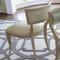Klismos Chair - Beige Leather image 1