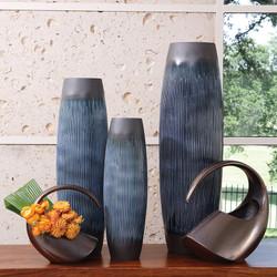 Matchstick Vase - Ink - Sm