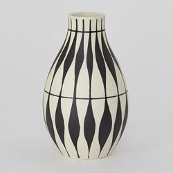 Napoli Vase - Leaf Pattern