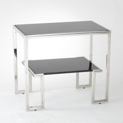 One - Up Table - Stainless Steel Finish