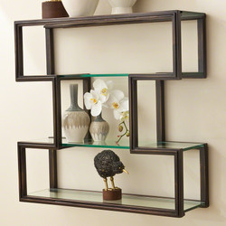 One Up Wall Shelf - Bronze Finish