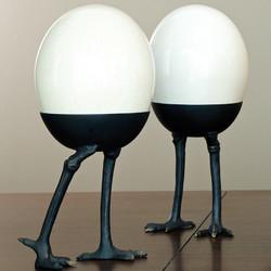 Ostrich Egg on Legs - Walking