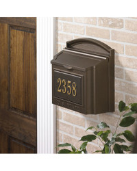 Capital Wall Mailbox Package main image