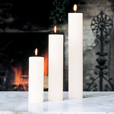 """Pillar Candle - Unscented - 2""""x9"""""""
