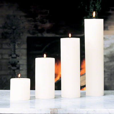 """Pillar Candle - Unscented - 3""""x9"""""""