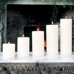 "Pillar Candle - Unscented - 4""x8"""