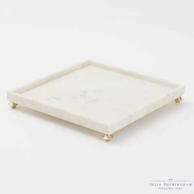 Quintessential Tray - Square - White
