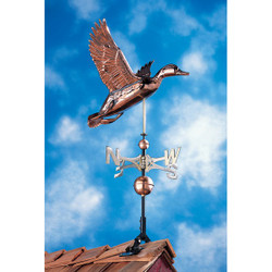 Copper Duck Weathervane main image