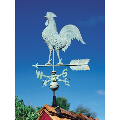 Copper Rooster Weathervane image 2