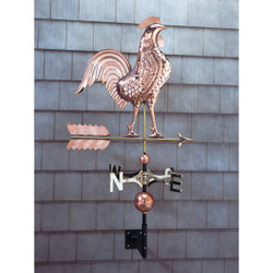 Copper Rooster Weathervane main image