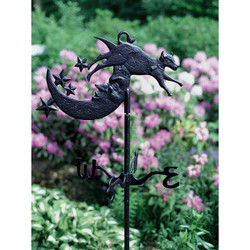 Cow Over Moon Garden Weathervane main image