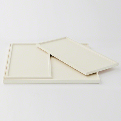 S/3 Nesting Trays in Ivory Lacquer