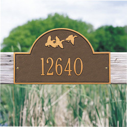 Flying Duck Arch Plaque main image