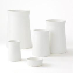 Soft Curve Vase - Moon - Lg