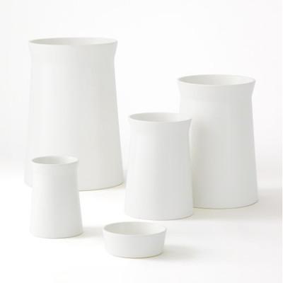 Soft Curve Vase - Moon - Med