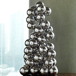 Sphere Sculpture - Nickel