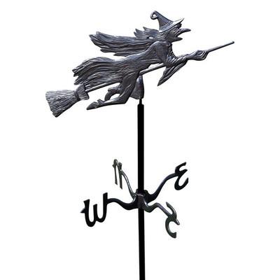 Flying Witch Garden Weathervane main image