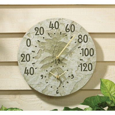 Fossil Sumac Thermometer Clock image 2