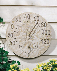 Fossil Sumac Thermometer Clock main image