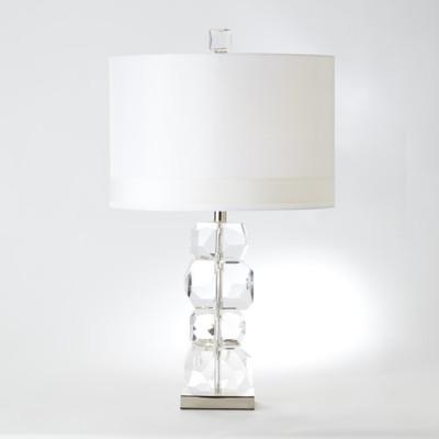 Stacked Gemstone Lamp - Short