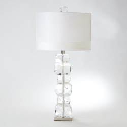 Stacked Gemstone Lamp - Tall