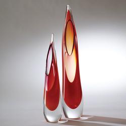Stalagmite Vase - Fire - Lg