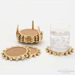 Starburst Crown Coasters