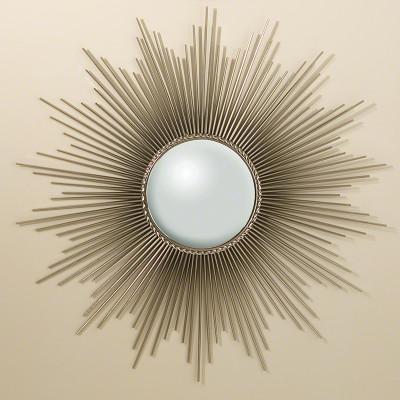 Sunburst Mirror - Nickel