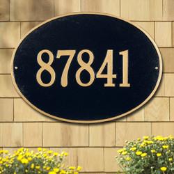 Hawthorne Oval Estate Plaque main image