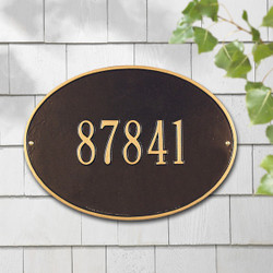 Hawthorne Oval Standard Plaque main image