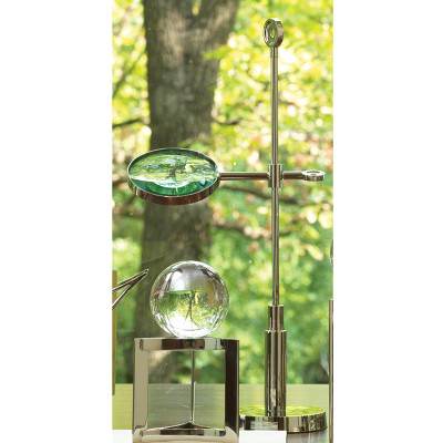 Telescope Magnifying Glass - Nickel