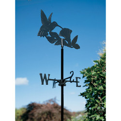 Hummingbird Garden Weathervane main image