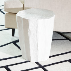 Trunk Stool - White